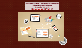 Social Media use for Creating a Digital Footprint with Twitter