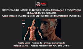 Coordenação do Cuidado para as Especialidades de Reumatologi