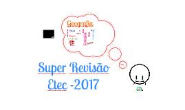 super revisão etec 2016