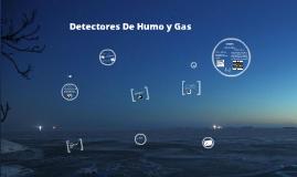 Detectores de Gases Y humo