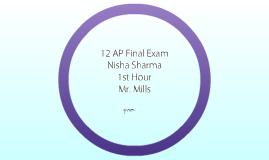12AP Final Exam