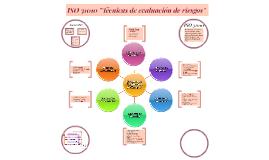 """Copy of ISO 31010 """"Técnicas de evaluación de riesgos"""""""