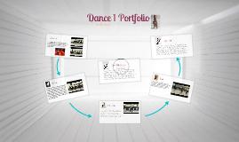 Dance 1 Portfolio