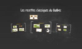 Copy of Les classiques du Québec revisités