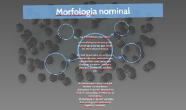 Morfologia nominal