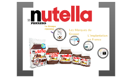 Nutella products