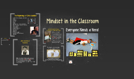 Mindset in the Classroom - a Hero