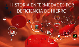 Copy of Copy of ENFERMEDADES POR DEFICIENCIA DE HIERRO.