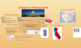 Congress: Making Laws
