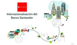 Internacionalización del Banco Santander