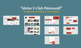 "5.Aktion: ""Meine V-Club Pinnwand!"""