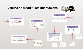 Sistema de magnitudes internacional