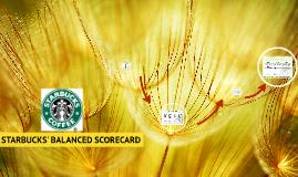 Starbucks - Balanced Scorecard