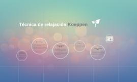 Técnica de relajación Koeppen