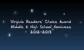 Virginia Readers' Choice Award