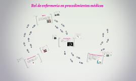 Copy of Rol de enfermería en procedimientos médicos