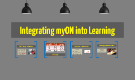 Integrating myON into Learning