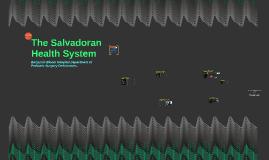 The Salvadorian Health System