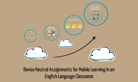 Device Neutral Assignments for Mobile Learning in an English Language Classroom