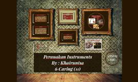 Peranakan Instruments