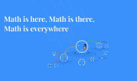 Math is here, Math is there, Math is everywhere