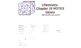 Chemistry: Chapter 10 NOTES
