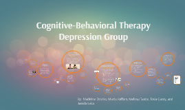 Cognitive-Behavioral Therapy Depression Group