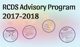 RCDS Advisory Program