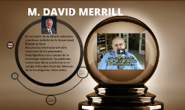 M. DAVID MERRILL