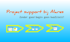 Project support bij Alares.