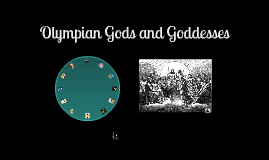 Copy of Olympian Gods and Goddesses