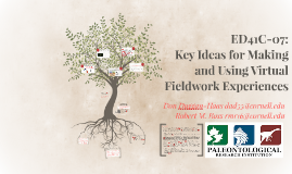 ED41C-07: Key Ideas for Making and Using Virtual Fieldwork Experiences