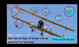 What Was the Impact of the War in the Air?