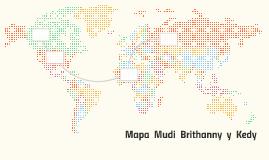 Mapa  Mudi  Brithanny  y  Kedy