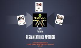 REGLAMENTO DEL APRENDIZ