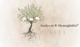 Analys av B-hemoglobin