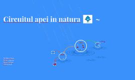 Copy of Circuitul apei in natura~
