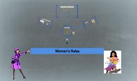 Women's Roles by Aditya Prodduturu