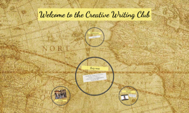 Welcome to the Creative Writing Club