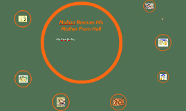 Mulian Rescues His Mother From Hell