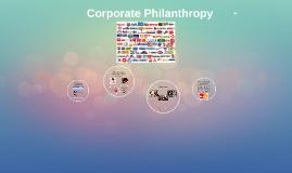 Copy of Corporate Philanthropy