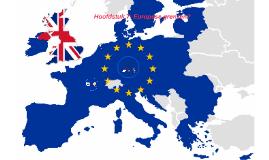 Hoofdstuk 7: Europese grenzen?