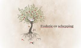 Evolutie en schepping
