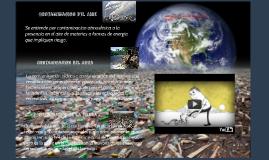 Fuentes de contaminación: