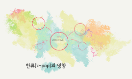 한류(k-pop)의 영향