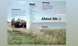 All About Me :}