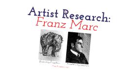 Franz Marc - Angela Wu