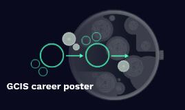 GCIS career poster