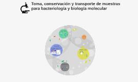 Toma, conservación y transporte de muestras para bacteriolog