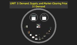 3.1 Demand